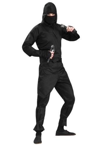 Deluxe 忍者 大きいサイズ コスチューム クリスマス ハロウィン メンズ コスプレ 衣装 男性 仮装 男性用 イベント パーティ ハロウィーン 学芸会