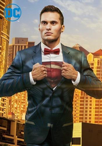 【ポイント最大29倍●お買い物マラソン限定!エントリー】Superman Suit Jacket (Alter Ego) ハロウィン メンズ コスプレ 衣装 男性 仮装 男性用 イベント パーティ ハロウィーン 学芸会