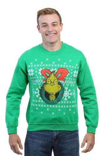 The Grinch Ugly Xmas Sweatshirt クリスマス ハロウィン メンズ コスプレ 衣装 男性 仮装 男性用 イベント パーティ ハロウィーン 学芸会