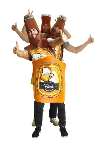 大人用 Beer Bottle Case Group コスチューム クリスマス ハロウィン メンズ コスプレ 衣装 男性 仮装 男性用 イベント パーティ ハロウィーン 学芸会