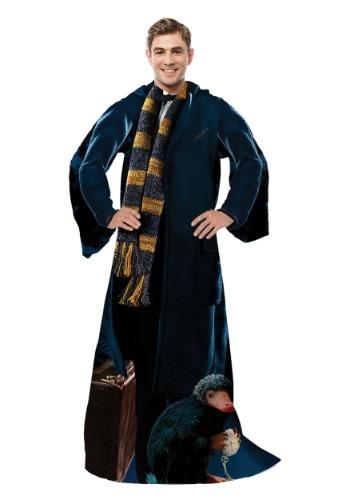 Fantastic Beasts Newt 大人用 Comfy Throw Blanket クリスマス ハロウィン メンズ コスプレ 衣装 男性 仮装 男性用 イベント パーティ ハロウィーン 学芸会
