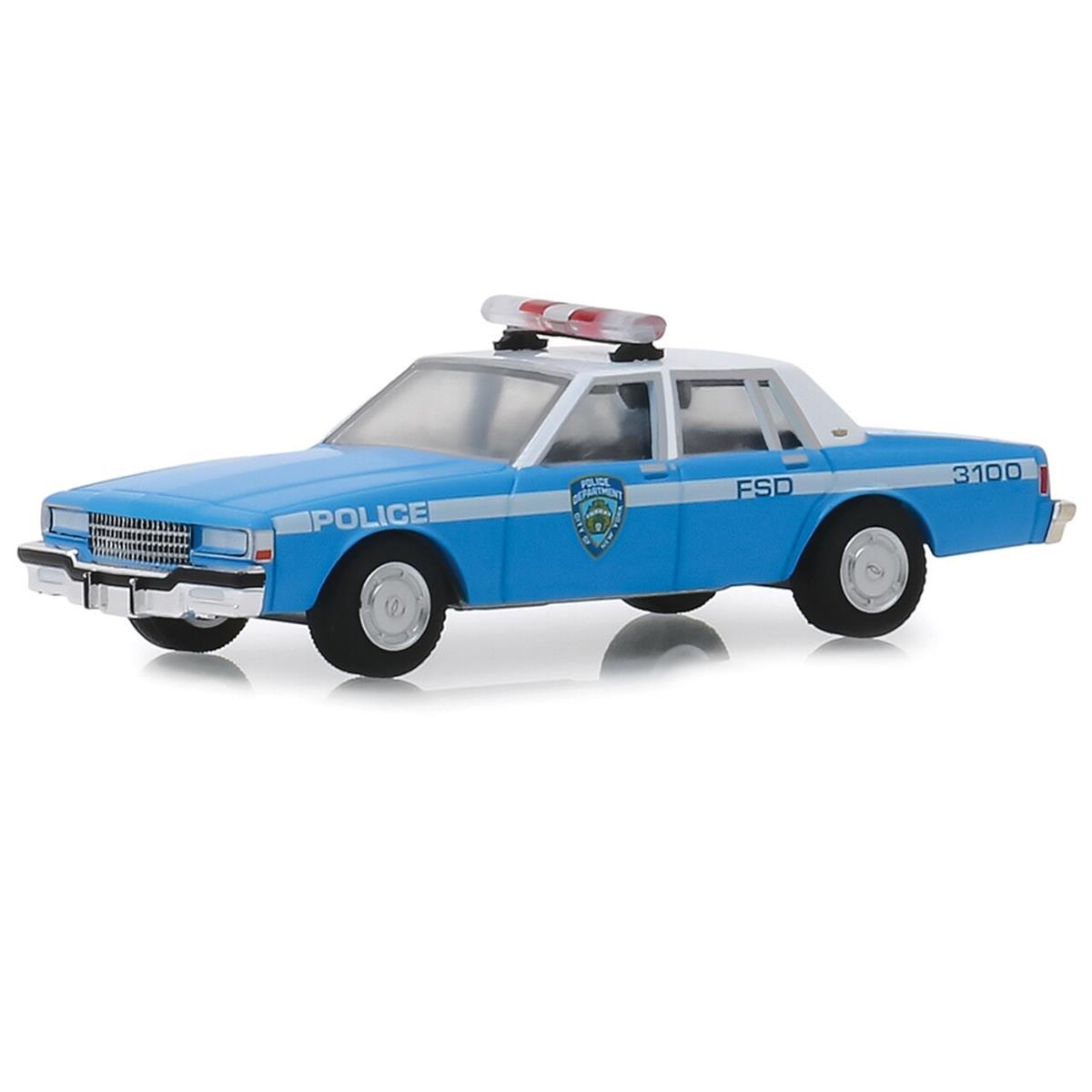 【送料無料】 Greenlight 1990 NYPD Chevrolet シボレー Caprice Patrol Car 1/64 Scale スケール Diecast Model  Greenlight 1990 NYPD Chevrolet シボレー Caprice Patrol Car 1/64 Scale スケール Diecast Model ダイキャスト ミニカー おもちゃ 玩具 コレクション ミニチュア ダイカス・...