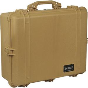 ペリカン/Pelican 1600 EMS Organizer Watertight Hard Case Dividers & Lid Org. -Desert Tan 1600-005-190/カメラバッグ/カメラケース/Bag/Case/カメラ/camera/アクセサリー PL1600EMST