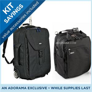 シンク・タンク/ThinkTank Airport Takeoff Rolling Backpack Kit w/Urban Disguise 35 V2 ShouldrBag 498-813/カメラバッグ/カメラケース/Bag/Case/カメラ/camera/アクセサリー TTATO35
