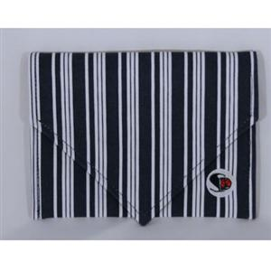 Shutterbug Designs Cricket Canvas Clutch Envelope Stripe Navy/White CC6.002/カメラバッグ/カメラケース/Bag/Case/カメラ/camera/アクセサリー SDCCENNWS