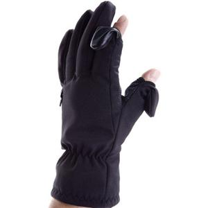 Freehands Men's Softshell Photo Gloves Medium Black 11351MM/カメラバッグ/カメラケース/Bag/Case/カメラ/camera/アクセサリー FHMSSPGMBK