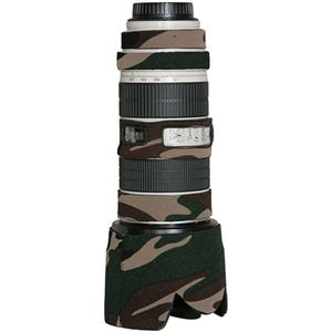 レンズコート/LensCoat Lens Cover for the Canon 70-200mm f/2.8 IS Zoom Lens - Forest Green Woodland Camo/カメラバッグ/カメラケース/Bag/Case/カメラ/camera/アクセサリー LC70200CAM