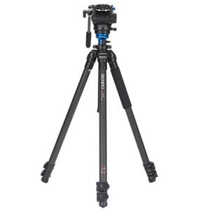 Benro C2573FS4 Video Head and CF Flip Lock Legs C2573FS4/三脚/カメラ/camera/アクセサリー BEC2573FS4