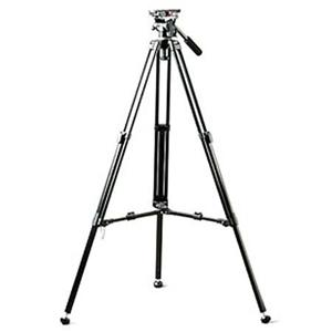 スリック/Slik / Daiwa DST-32 Lightweight Aluminum 2 Stage Video Tripod System with Fluid Head Maximum Height 61.6'''''''' Supports 5.0 to 8.0 lbs./三脚/カメラ/camera/アクセサリー SLDST32