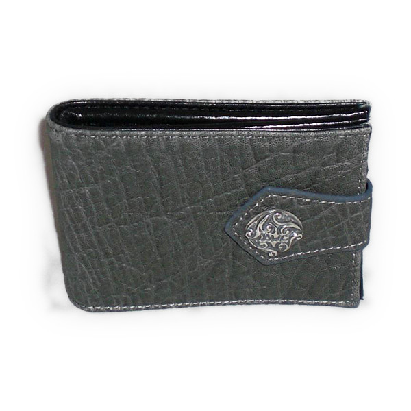 ビルウォール BILL WALL LEATHER ビルウォールレザー BWLELEPHANT SKIN GRAY BILLFOLD ウォレット 財布 EXCLUSIVE KLCORNISH