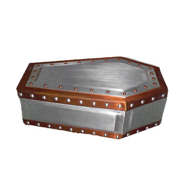 正規品 ビルウォールレザー BILL WALL LEATHER ビルウォール BWLArtist Dennis Sanchez Custom Coffin Jewelry Box