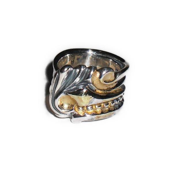 正規品 ビルウォールレザー BILL WALL LEATHER ビルウォール BWLR219 1999 LTD スプーン リング 指輪