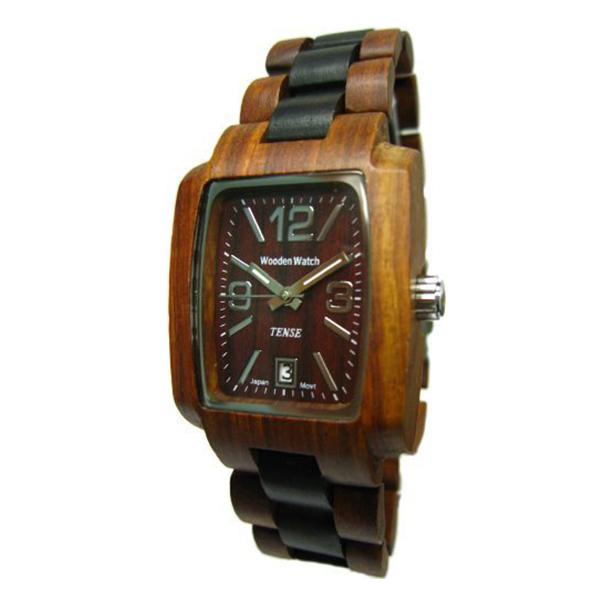 TENSE テンス木製腕時計 ウッドウォッチサンダルウッド メンズ J8102SD