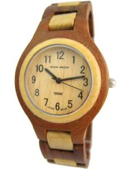 TENSE テンス木製腕時計 ウッドウォッチメンズ サンダルウッド G7509SM