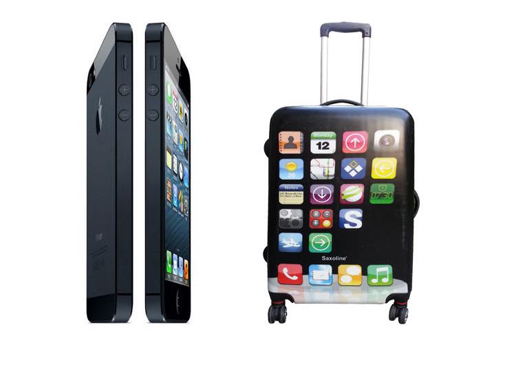 【全品P5倍】iPhone型 軽量 スーツケース Mサイズ スーツケース 軽量 キャリーケース キャリーバッグ 旅行 海外旅行 国内旅行 旅行用品 72cm TSAロック付き