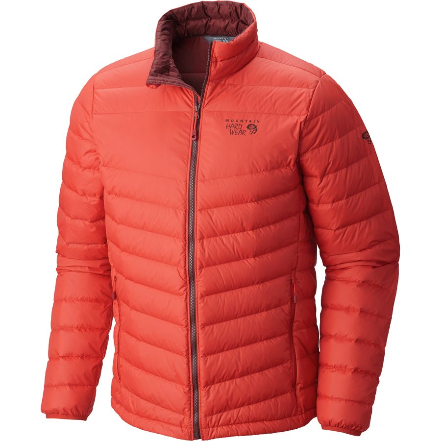 熱い販売 Mountain Hardwear Micro Ratio Down Hardwear Jacket - Fire Men's Dark Jackets Fire メンズ 男性用 アウトドア ダウンジャケット コート アウター Down Jackets, プレジャー:a1621b49 --- portalitab2.dominiotemporario.com