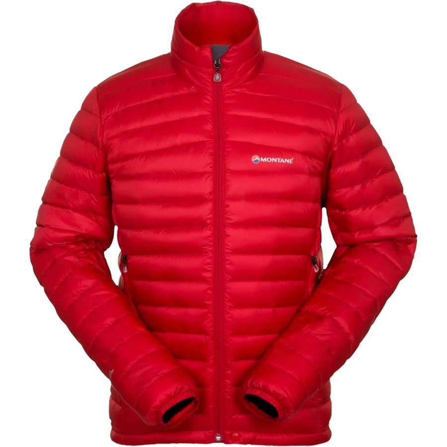 Montane Featherlite Down Micro Jacket - Men's Alpine Red Alpine Red メンズ 男性用 アウトドア ダウンジャケット コート アウター Down Jackets