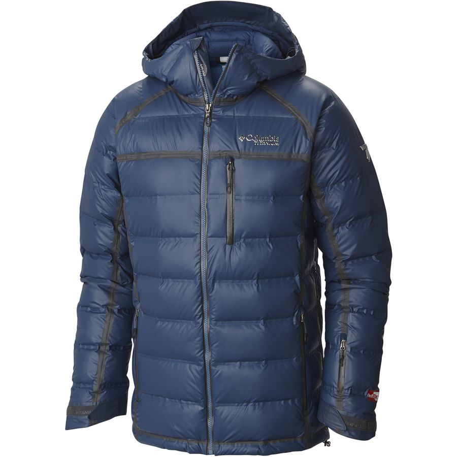Columbia Outdry Ex Diamond Down Insulated Jacket - Men's Night Tide メンズ 男性用 アウトドア ダウンジャケット コート アウター Down Jackets
