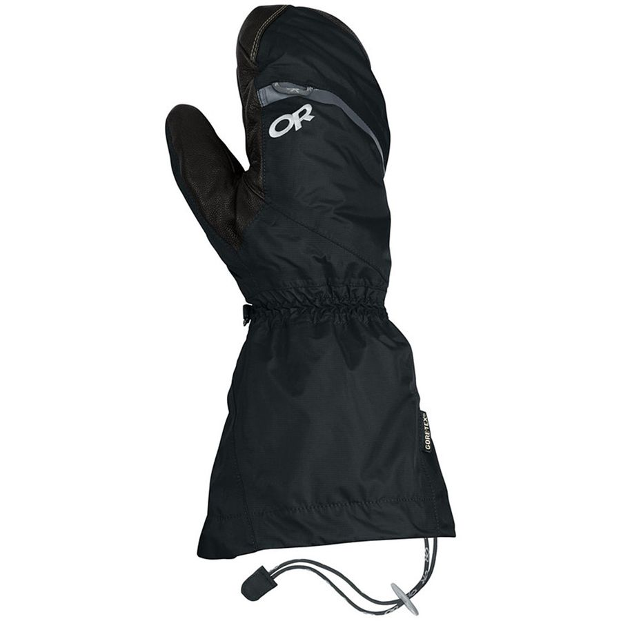 Outdoor Research Alti Mitten - Men's Black アウトドア メンズ 男性用 グローブ 手袋 Gloves & Mittens