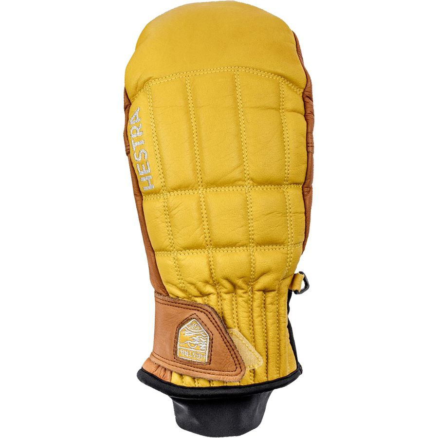 Hestra Henrik Leather Pro Model Mitten Yellow Cork アウトドア メンズ 男性用 グローブ 手袋 Gloves & Mittens