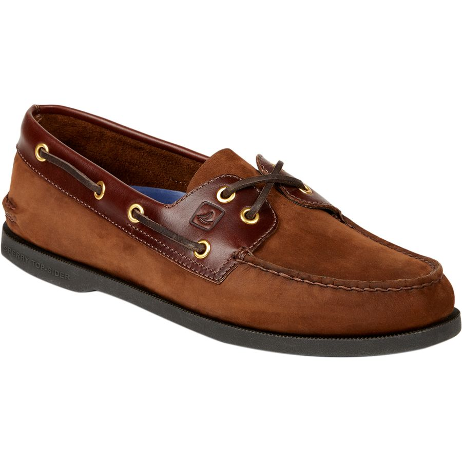 Sperry Top-Sider A O 2-Eye Loafer - Men's Brown Buc Brown アウトドア メンズ 男性用 靴 シューズ ブーツ Boots & Shoes