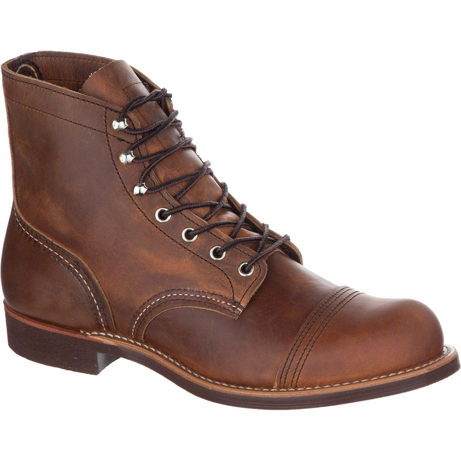 Red Wing Heritage 6-Inch Iron Ranger Boot - Men's Copper Rough And Tough アウトドア メンズ 男性用 靴 シューズ ブーツ Boots & Shoes