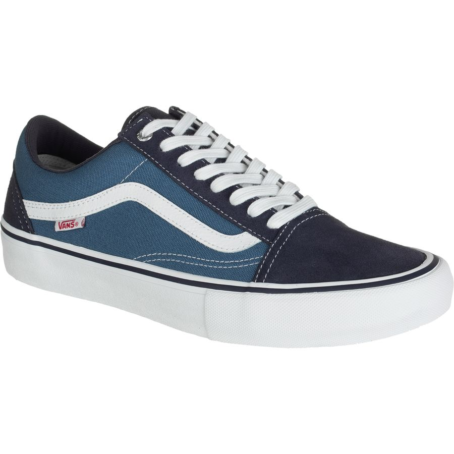 Vans Old Skool Pro Skate Shoe - Men's Navy Stv Navy White アウトドア メンズ 男性用 靴 シューズ ブーツ Boots & Shoes