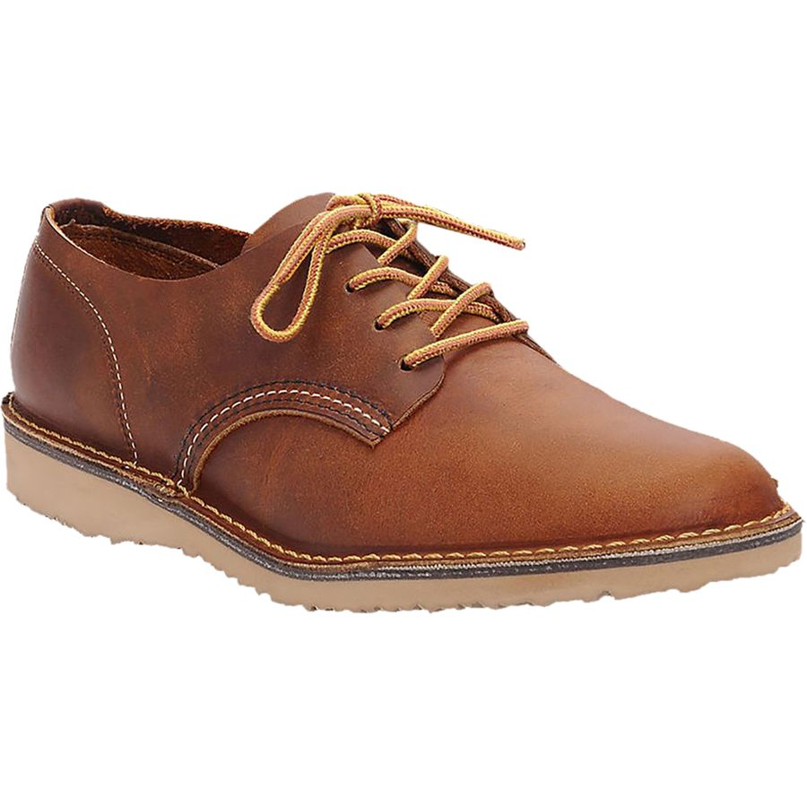 Red Wing Heritage Weekender Oxford Shoe - Men's Copper Rough And Tough アウトドア メンズ 男性用 靴 シューズ ブーツ Boots & Shoes