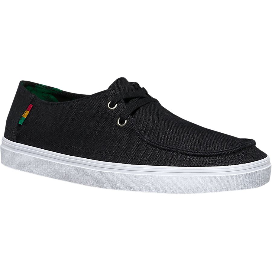 Vans Rata Vulc SF Shoe - Men's (hemp) Black Rasta White アウトドア メンズ 男性用 靴 シューズ ブーツ Boots & Shoes