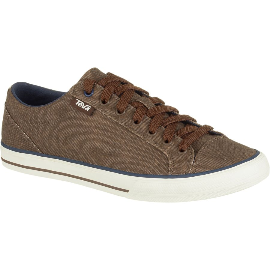 Teva Roller Washed Canvas Shoe - Men's Brown アウトドア メンズ 男性用 靴 シューズ ブーツ Boots & Shoes