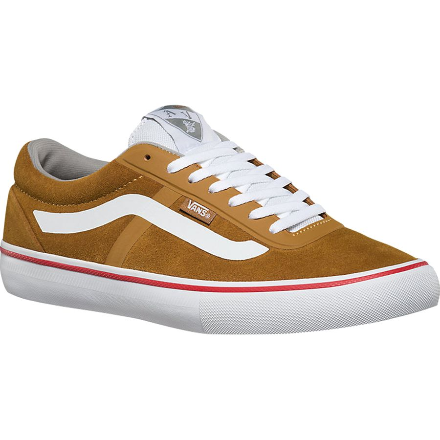 Vans AV Rapidweld Pro Skate Shoe - Men's Golden Brown White アウトドア メンズ 男性用 靴 シューズ ブーツ Boots & Shoes