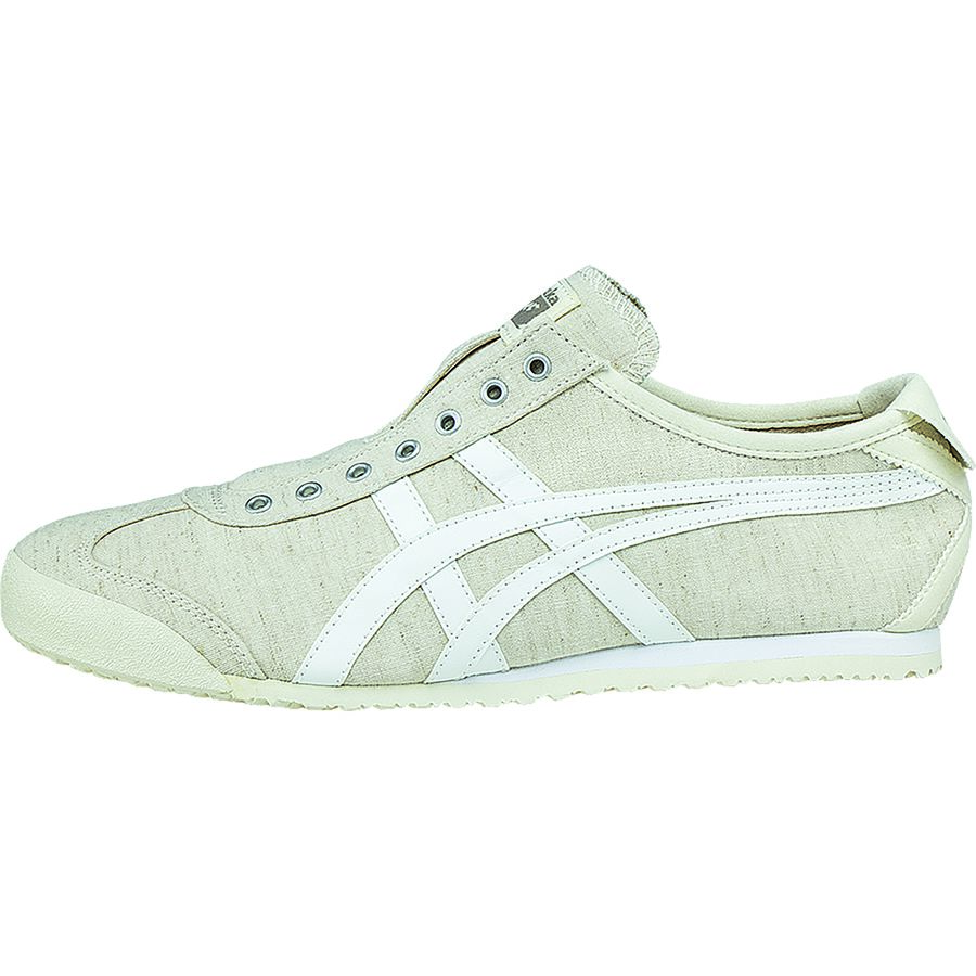 Asics Onitsuka Tiger Mexico 66 Slip-On Shoe - Men's Off White White アウトドア メンズ 男性用 靴 シューズ ブーツ Boots & Shoes