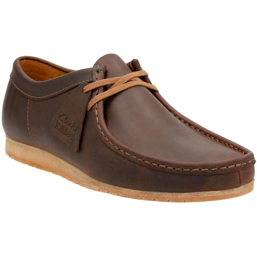 Clarks Wallabee Step Shoe - Men's Beeswax Leather アウトドア メンズ 男性用 靴 シューズ ブーツ Boots & Shoes