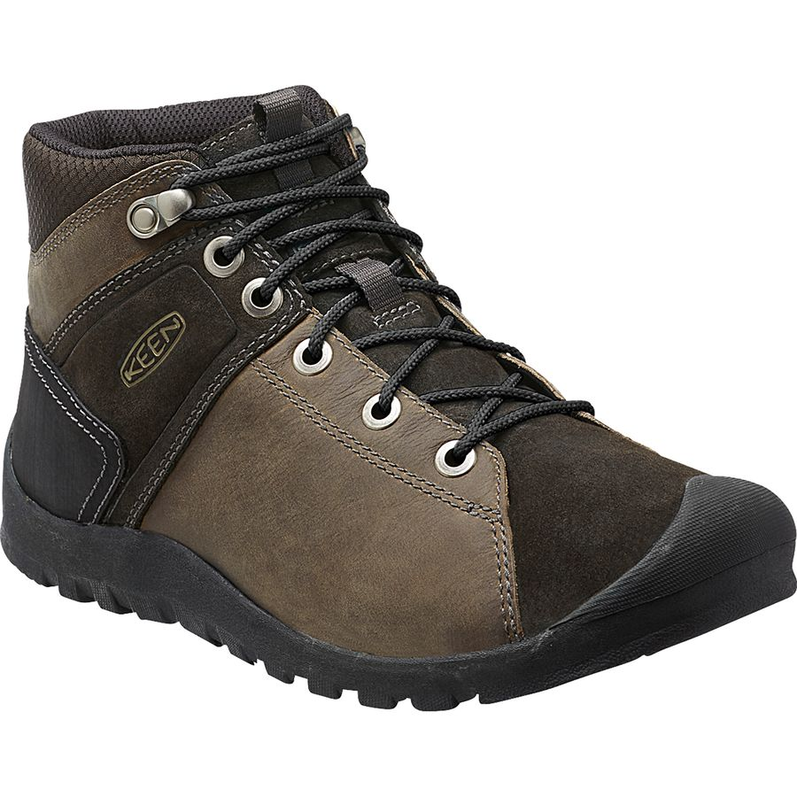 KEEN Citizen Keen Mid Waterproof Boot - Men's Canteen アウトドア メンズ 男性用 靴 シューズ ブーツ Boots & Shoes