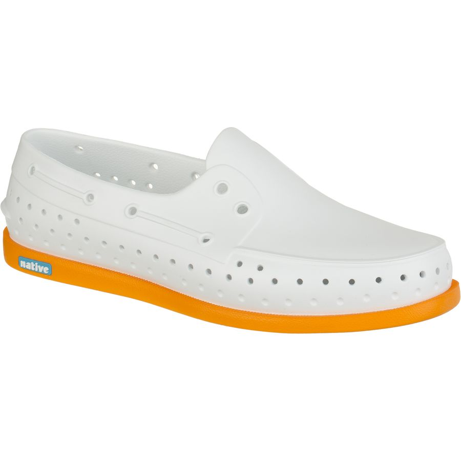 Native Shoes Howard Shoe - Men's Shell White Begonia Orange アウトドア メンズ 男性用 靴 シューズ ブーツ Boots & Shoes