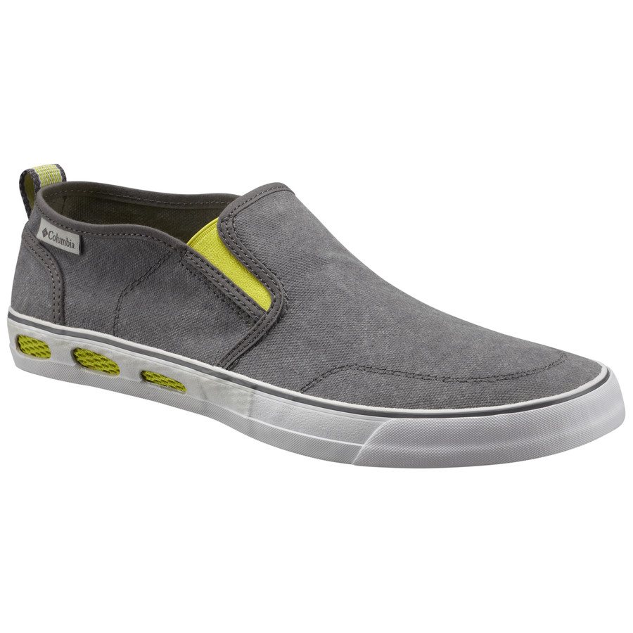 Columbia Vulc N Vent Slip-On Shoe - Men's Shale Oyster アウトドア メンズ 男性用 靴 シューズ ブーツ Boots & Shoes