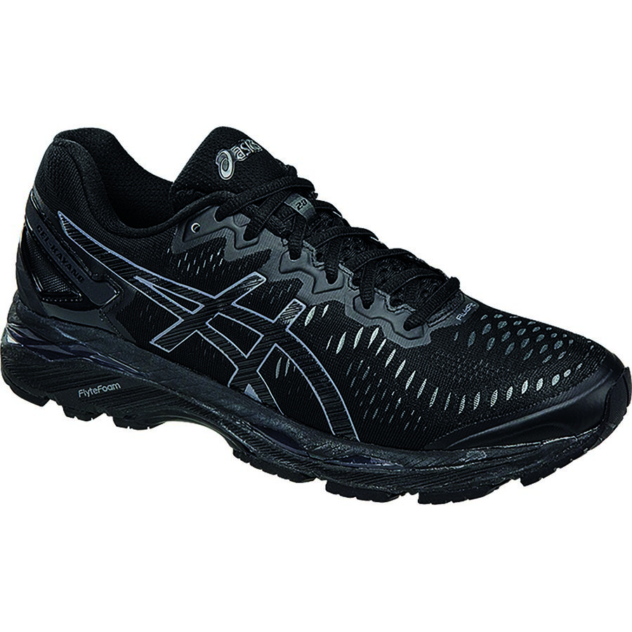 Asics Gel-Kayano 23 Running Shoe - Men's Black Onyx Carbon アウトドア メンズ 男性用 靴 ランニングシューズ Running Shoes