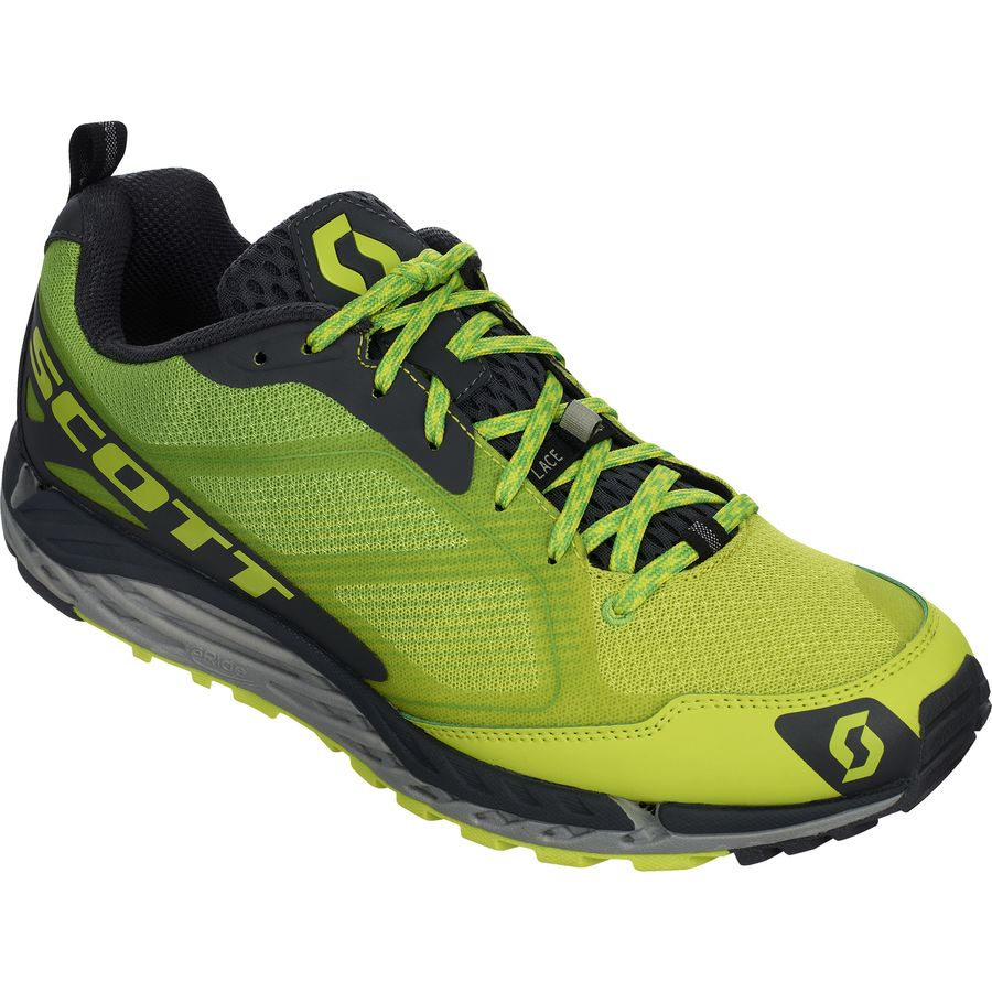 Scott T2 Kinabalu 3.0 Trail Running Shoe - Men's Yellow Green アウトドア メンズ 男性用 靴 ランニングシューズ Running Shoes
