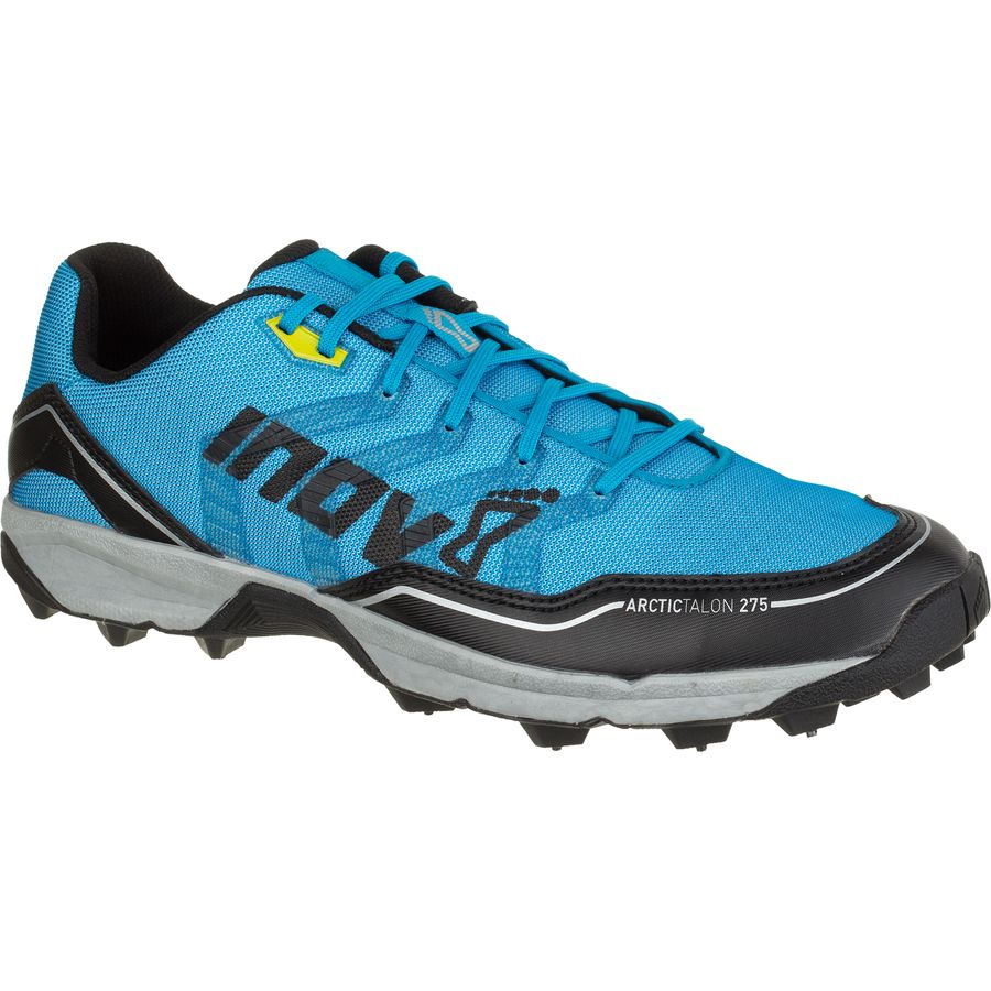 Inov 8 Arctic Talon 275 Running Shoe - Men's Blue Black Silver Yellow アウトドア メンズ 男性用 靴 ランニングシューズ Running Shoes