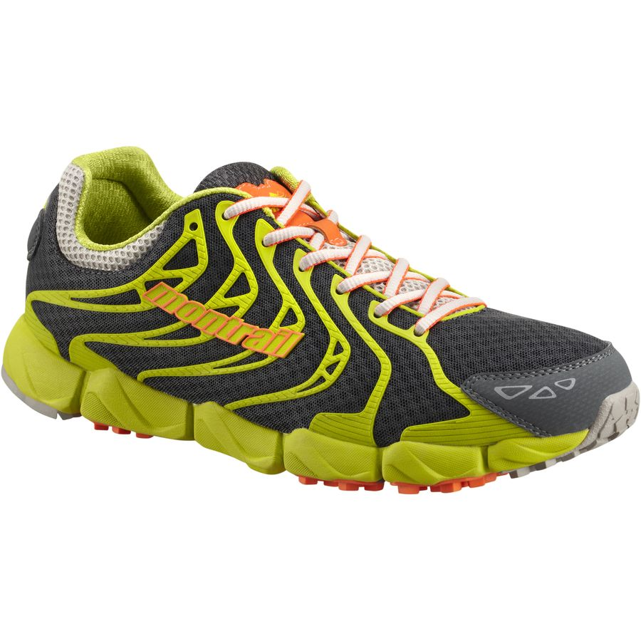 Montrail FluidFlex F.K.T. Trail Running Shoe - Men's Dark Grey Blaze アウトドア メンズ 男性用 靴 ランニングシューズ Running Shoes