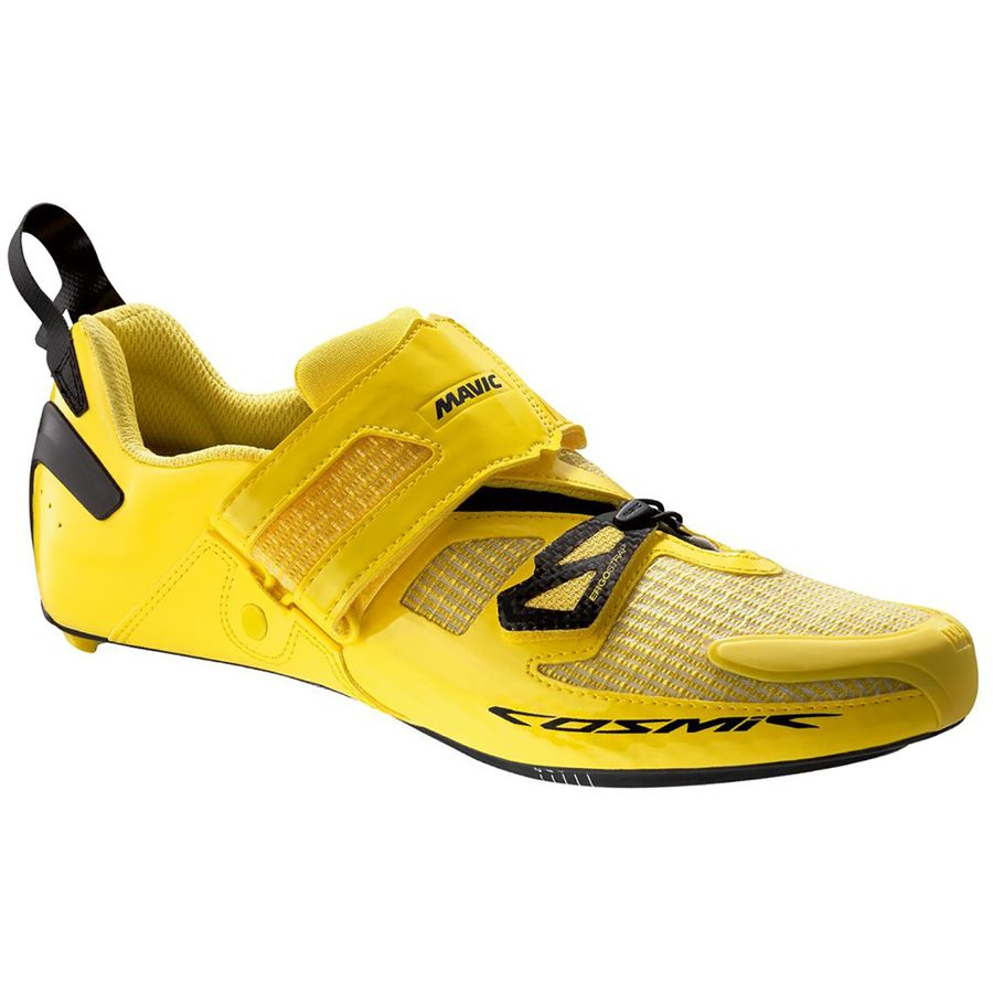 新作モデル Mavic Cosmic Ultimate Tri Shoes Shoes - Men's メンズ Yellow Men's Mavic Black アウトドア メンズ 男性用 靴 ランニングシューズ Running Shoes, ROERMOND(ルールモント):202c6e6e --- canoncity.azurewebsites.net