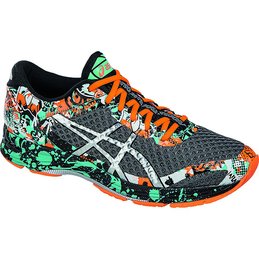 Asics GEL-Noosa Tri 11 Running Shoe - Men's Carbon Silver Hot Orange アウトドア メンズ 男性用 靴 ランニングシューズ Running Shoes