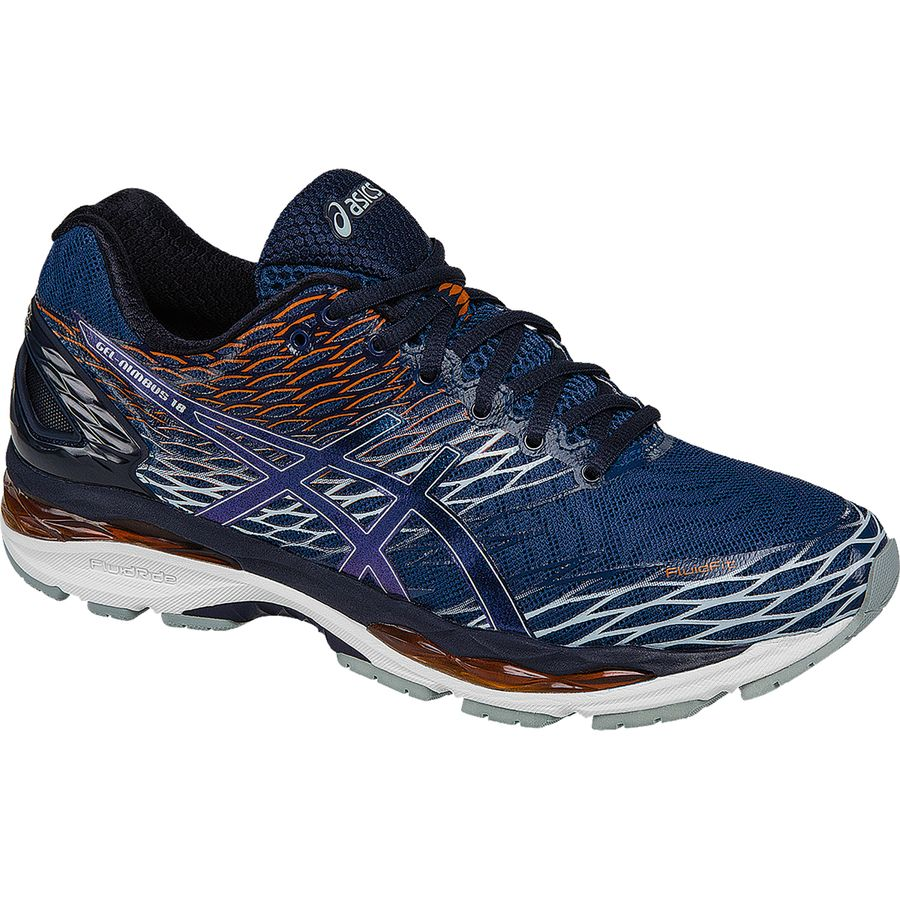 Asics Gel-Nimbus 18 Running Shoe - Men's Poseidon Dark Sapphire Koi アウトドア メンズ 男性用 靴 ランニングシューズ Running Shoes