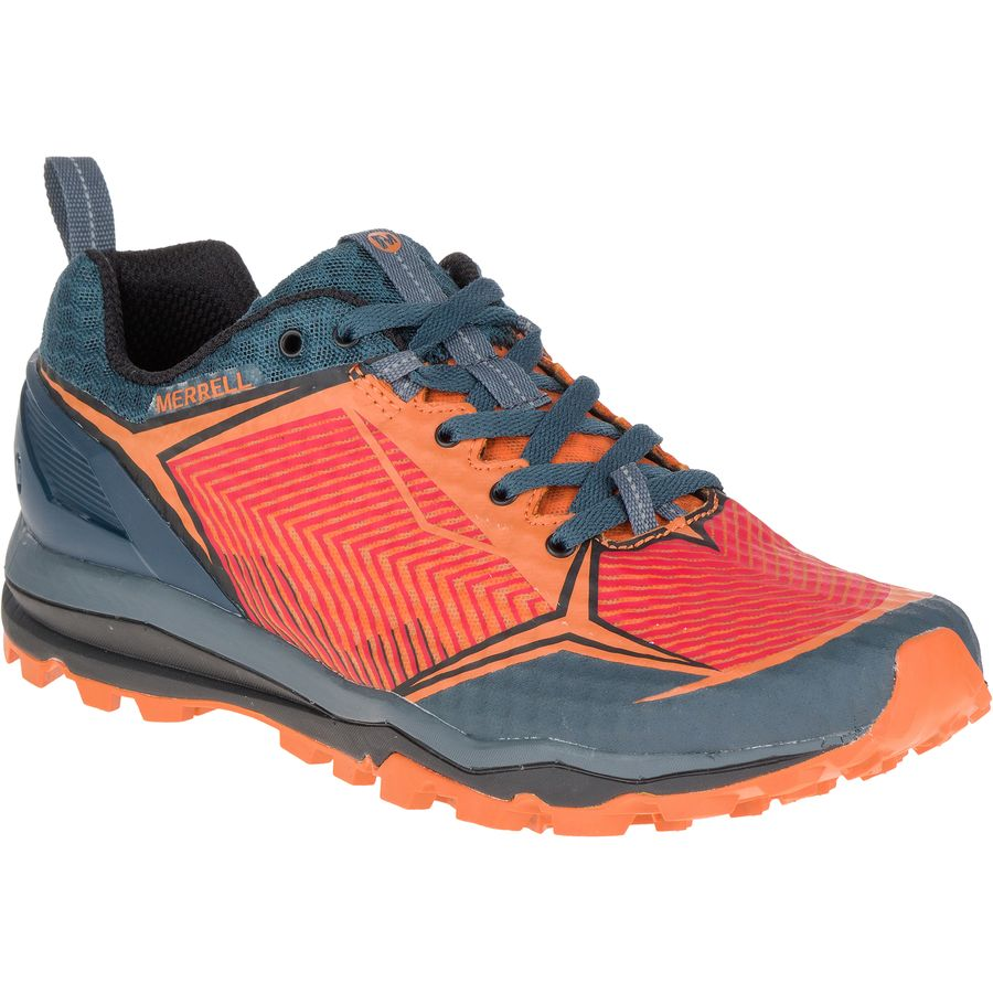 Merrell All Out Crush Shield Trail Running Shoe - Men's Merrell Orange アウトドア メンズ 男性用 靴 ランニングシューズ Running Shoes