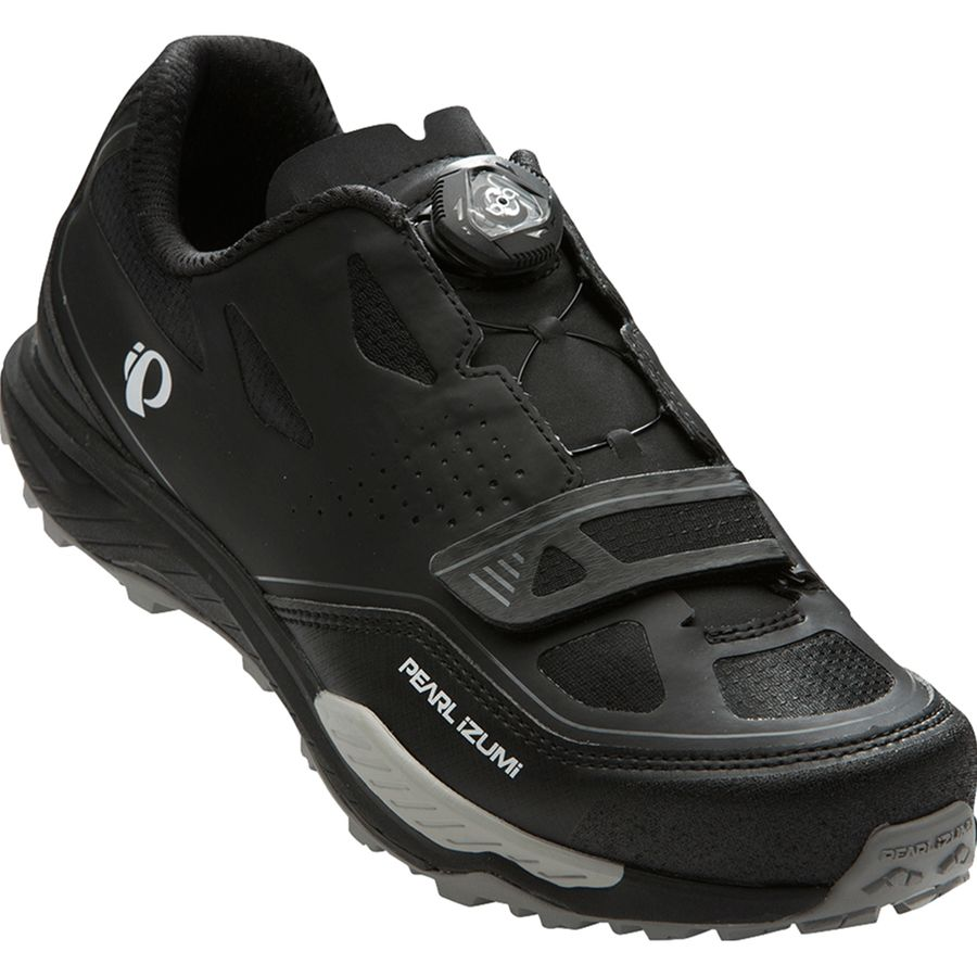 Pearl Izumi X-Alp Launch II Mountain Bike Shoe - Men's Black Shadow Grey アウトドア メンズ 男性用 靴 バイクシューズ Bike Shoes