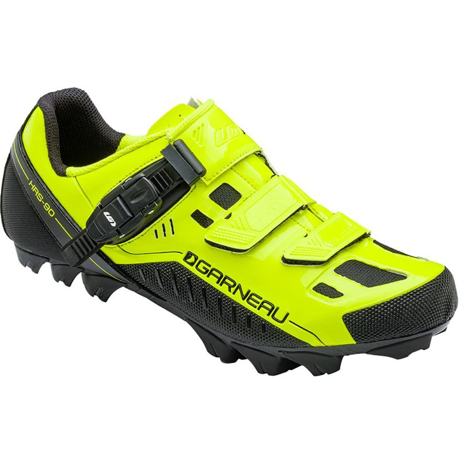 Louis Garneau Slate Mountain Bike Shoe - Men's Bright Yellow アウトドア メンズ 男性用 靴 バイクシューズ Bike Shoes