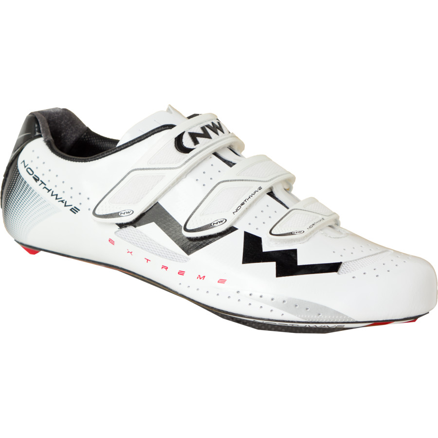 Northwave Extreme Shoes White Black アウトドア メンズ 男性用 靴 バイクシューズ Bike Shoes