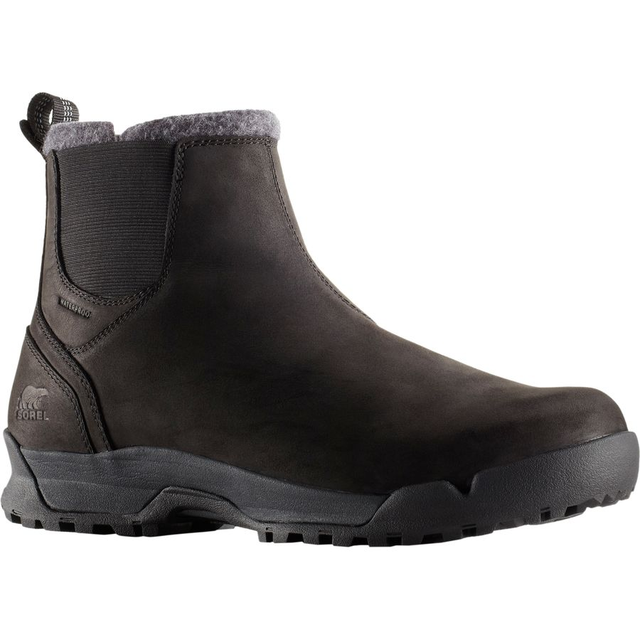 Sorel Paxson Waterproof Chukka Boot - Men's Black Shark アウトドア メンズ 男性用 靴 シューズ ウインターブーツ Winter Boots & Shoes