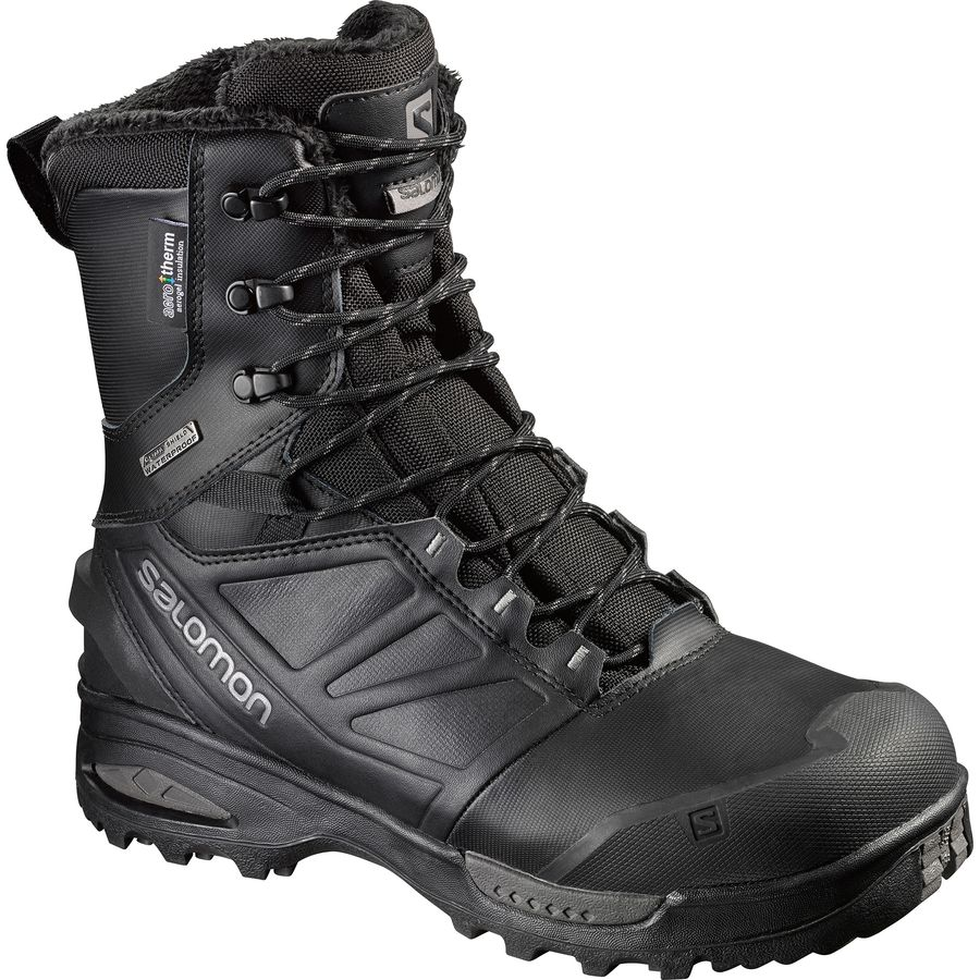 Salomon Toundra Pro CSWP Boot - Men's Black Black Autobahn アウトドア メンズ 男性用 靴 シューズ ウインターブーツ Winter Boots & Shoes