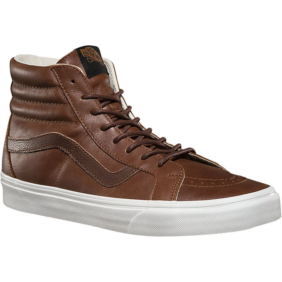 Vans Sk8-Hi Reissue Shoe (Leather) Dachshund Potting Soil アウトドア メンズ 男性用 靴 スケートシューズ Skate Shoes